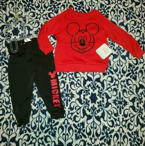 Disney's Mickey Mouse Baby Boys Sweat Outfit